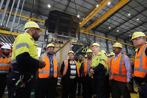 OTML welcomes visit by Prime Minister Marape