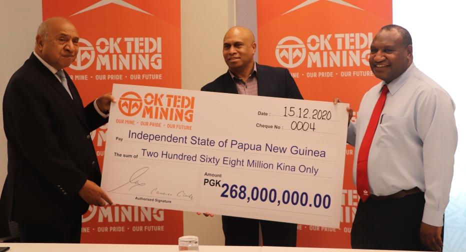 Ok Tedi Declares Final Dividend of PGK400 Million