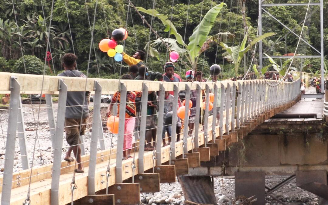 New Footbridge for Ok Tedi Communities